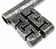 """Antique victorian conteneur/clés coffre 4 3/4"""" - ref.K260"""