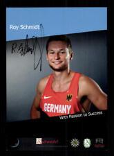 Roy Schmidt Autogrammkarte Original Signiert Boxen+A 182550