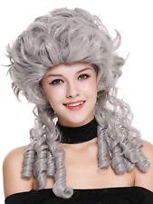 Perücke Damen Karneval Barock Renaissance Romantik Spiral Locken toupiert Grau