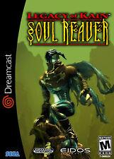 Legacy of kain soul eclaireur dreamcast encadrée imprimer (man cave art photo affiche)