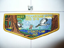 OA O Shot Caw 265 S-34,1993 S-4 Best All Around Lodge Flap,South Florida Cncl,FL