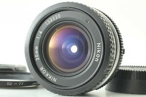 【Excellent++++】 Nikon Ai Nikkor 20mm f/4 MF wide angle Lens from Japan  #0151126