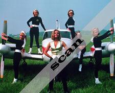HONOR BLACKMAN PUSSY GALORE'S FLYING CIRCUS GIRLS JAMES BOND 8x10 PHOTO #776