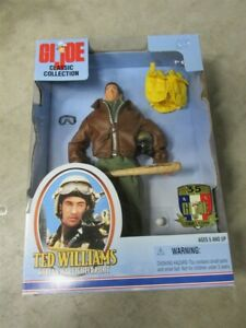 "NIB Original GI JOE Hasbro TED WILLIAMS Boston Red Sox 1/6 12"" Action Figure"