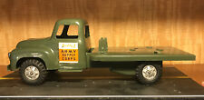 Vintage 1950's ? Buddy L Army Supply Corps Truck Military Green