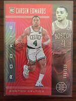 2019-20 Panini Illusions Carsen Edwards RED /199 Rookie Boston Celtics RC SP