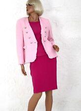 Zara Damenjacke Damenblazer Boucle Woman Jacket Casual Rosa S NEU