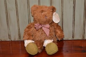 Vintage Teddy Bear Avon Talking Praying Now I Lay Me Down to Sleep WORKS w/tag
