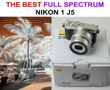 NEW 20Mp Nikon 1 J5 Camera converted Full Spectrum UV+VIS+IR Infrared +10-30mm