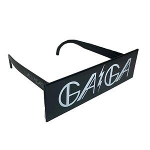 RARE Lady Gaga Halloween Costume Censor Bar Fashion Sunglasses
