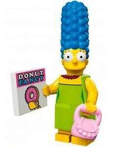 The Simpsons Lego collectible minifig Marge Simpson - suit city / house set