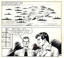 GIORDAN  SEUL POUR TOUS  PLANCHE ORIGINALE VIGOR AREDIT 1973  PAGE FIN