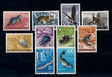 [71376] Yugoslavia Trieste Zone B 1954 Animals Insects Birds OVP STT VUJNA MLH