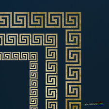 Greek Key Stencil Set with Corners: For Walls, Furniture and Art:  ST51