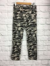 Pumpkin Patch Size 12 Cammo Pants Straight Leg with Pockets