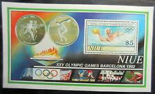 Niue 1992 Olympic Games-Barcelona Mini Sheet. MNH.