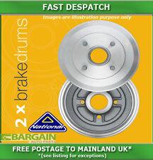REAR BRAKE DRUMS FOR FIAT MULTIPLA 1.9 04/1999 - 06/2010 3621