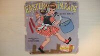 """Peter Pan Records EASTER PARADE 7"""" 78rpm 1956"""