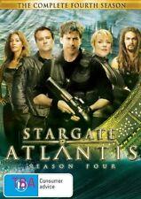Stargate Atlantis : Season 4 (DVD, 2008, 5-Disc Set) VGC Pre-owned (D97)