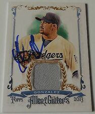 Adrian Gonzalez Signed autograph 2013 Allen & Ginter Baseball Card PROOF COA