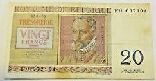 20 FRANCS DU 03-04-1956 Belgique Belgïe 20 Frank #F3# TTB
