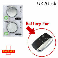 2 x Remote Key Fob Batteries For Range Rover Smart Brand New CR2032 Batteries