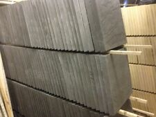 Riven paving slabs 450x450 slate grey