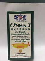 Omega 3 Fish Oil + EPA + DHA (100 Softgels)1200mg