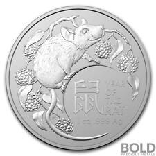 2020 RAM Australian Year of the Rat 1 oz Silver Coin