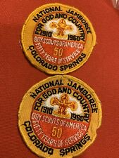 Two 1960 National Jamboree Patches