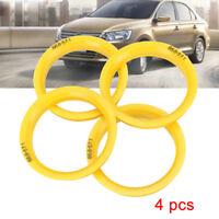 New Wheels Bore Center Collar Hub Centric Rings 66.6mm-57.1mm For VW Audi SKODA