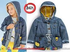 Baby-Jacken für Mädchen aus 100% Baumwolle Größe 80