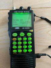 AOR AR 8200 MK3 radio scanner + Desktop stand