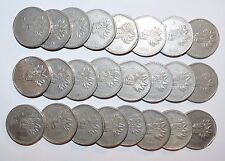 MEXICO lot 5 PESOS five cinco vintage world foreign L Mexican large 24 COINS
