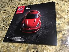 2016 Nissan 370Z 4-page Original Sales Brochure