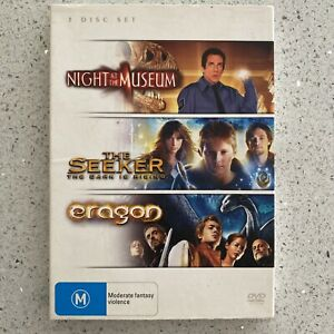 Night At The Museum / The Seeker - The Dark Is Rising / Eragon (3 Movies) DVD R4