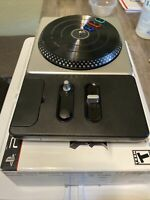 PlayStation DJ Hero Wireless Turntable Controller for PS2 PS3 no dongle