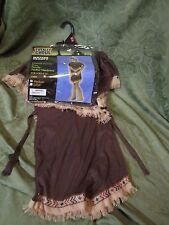 New Kid Girls Totally Ghoul Native American Beauty Halloween Costume Sz Medium