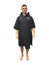 Changing Dry Robe Poncho Beach Swimming Travel Size Large Extra-large Black