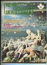 Musig Canada Quarterly #2  July-Sept. 1972 Mariposa Crowbar   MBX7