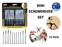 11 Precision Mini Screwdriver Set Phone Watch Jewellery Electronic Repair Tool