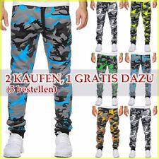 Herren Jogginghose Trainingshose Freizeit Jogger Sweatpants Camouflage Sporthose