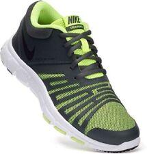 Nike Flex Show TR 5 Boys Girls Running Shoes 847473 007 Black / Volt  Size 2 Y