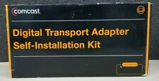 NEW OPEN BOX COMCAST DC50X DIGITAL TRANSPORT ADAPTER DTA SELF INSTALLATION KIT