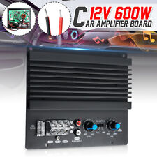 Dc 12V 600W Mono Digital Car Audio Power Amplifier Board Module Powerful Bass
