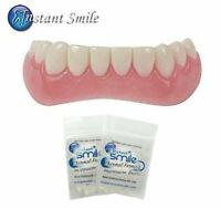 Instant Smile Lower Veneer Teeth plus 2 Packs of Adhesive Thermal Fitting Beads