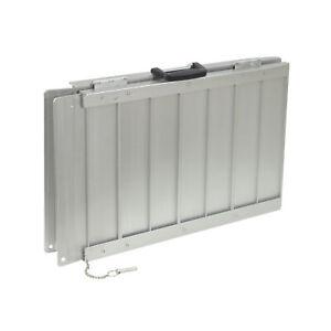 Aidapt Lightweight Folding Suitcase Ramp For Wheelchairs – 43st. Maximum Weight