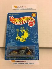 #3  Scorchin' Scooter * BLACK/Gold * White's Guide Promo * Hot Wheels * D27