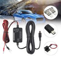 12 24V to 5V Inverter Converter USB Hard Wire Kit Car Dash Cam DVR For Nextbase