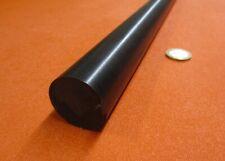 "Acetal Delrin POM Round Rod, Black 1 1/4"" (1.25"") Dia x 60"" Length"